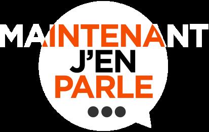 Maintenant J'en Parle - Logo